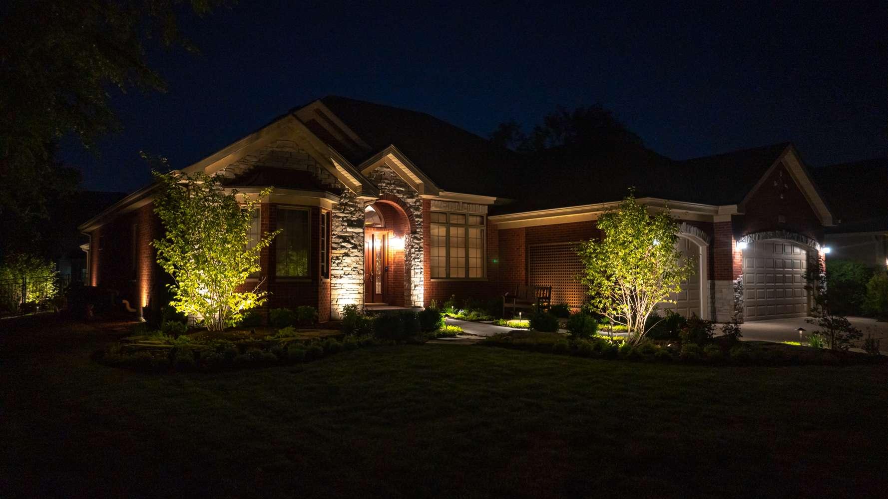 Aesthetically pleasing landscape lighting
