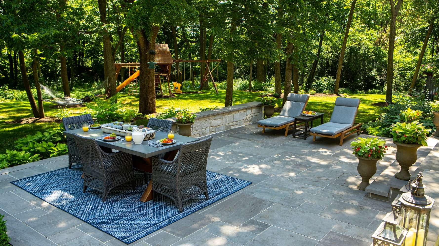 Paver patio design