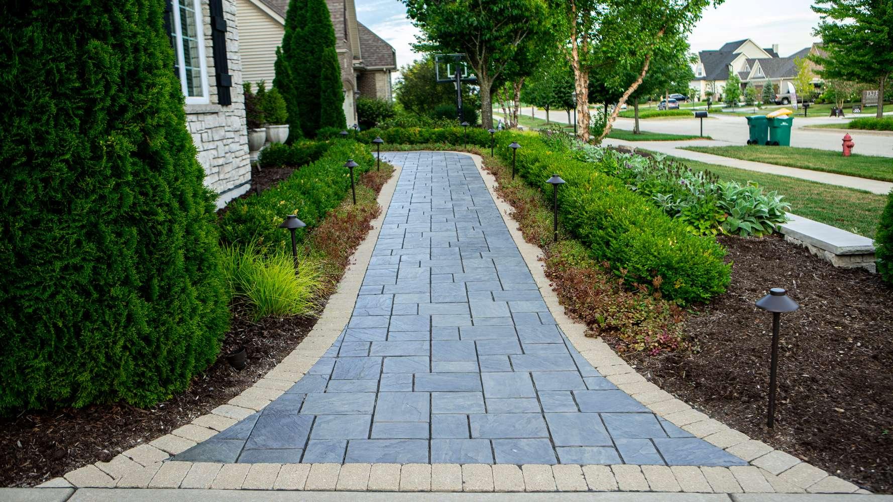 Modular paver pathway
