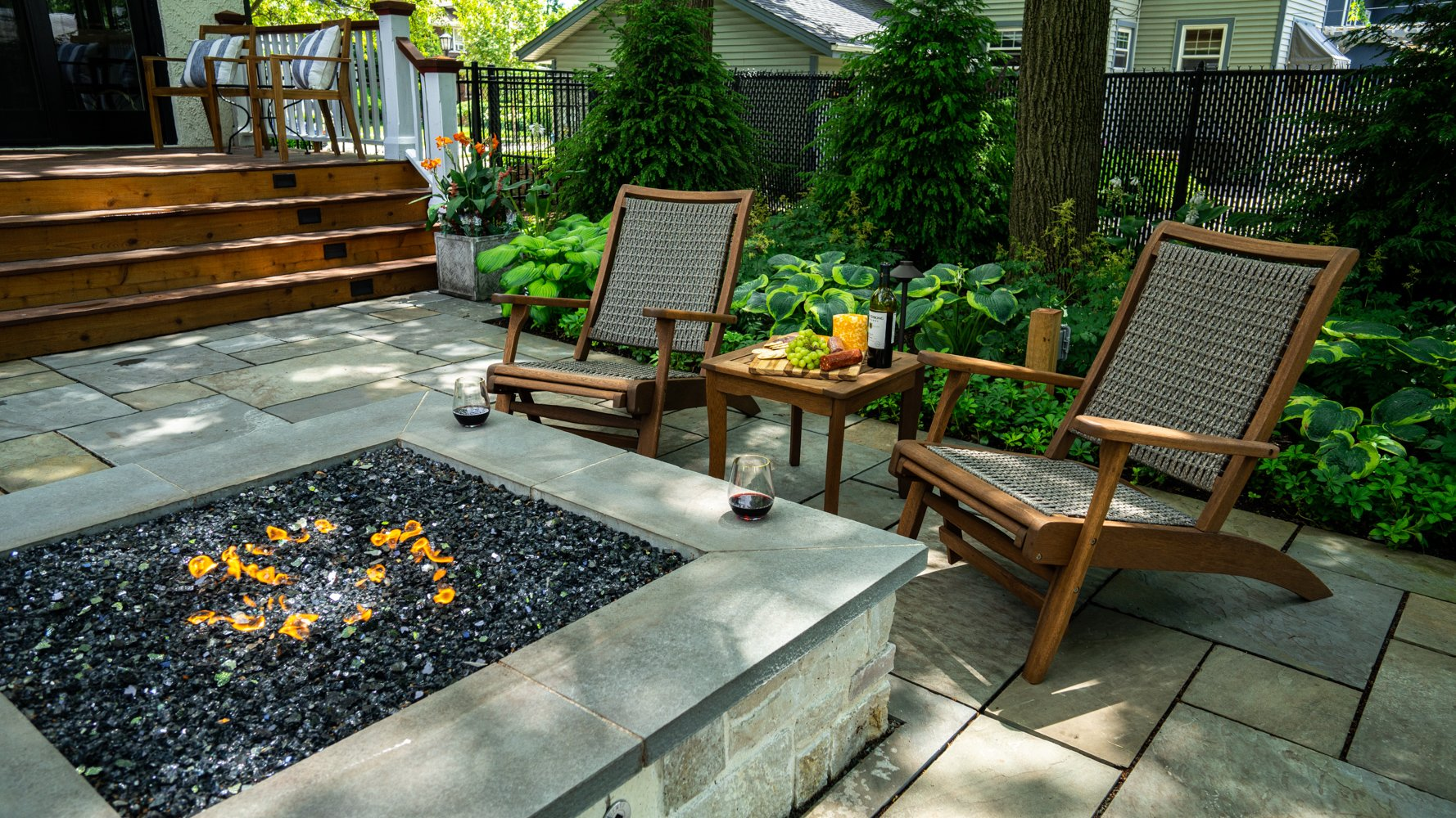 fire feature outdoor living